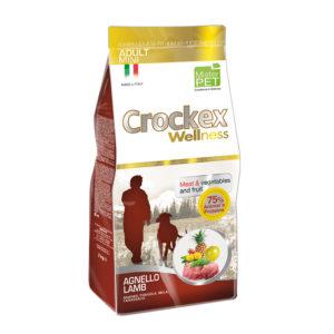 Сухой корм Crockex Wellness длясобак мелких пород сягненком ирисом