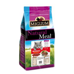 Сухой корм Meglium длякошек сговядиной