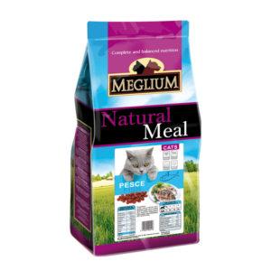 Сухой корм Meglium длякошек счувствительным пищеварением срыбой