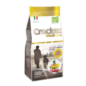 Сухой корм Crockex Wellness длясобак мелких пород скониной ирисом