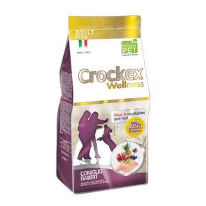 Сухой корм Crockex Wellness длясобак мелких пород скроликом ирисом