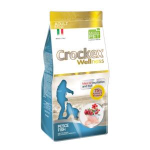 Сухой корм Crockex Wellness длясобак мелких пород срыбой ирисом