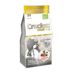 Сухой корм Crockex Wellness длясобак мелких пород скурицей ирисом