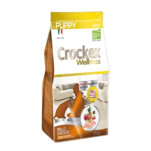 Сухой корм Crockex Wellness длященков мелких пород скурицей ирисом