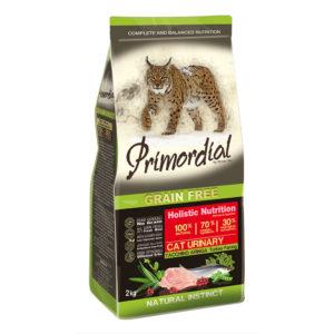 Сухой корм Primordial длякошек (с МКБ) синдейкой исельдью